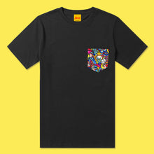 Load image into Gallery viewer, REVENGE Pocket Tee in Black