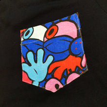 Load image into Gallery viewer, SPONGE Pocket Tee in Black