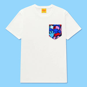 SPONGE Pocket Tee in White