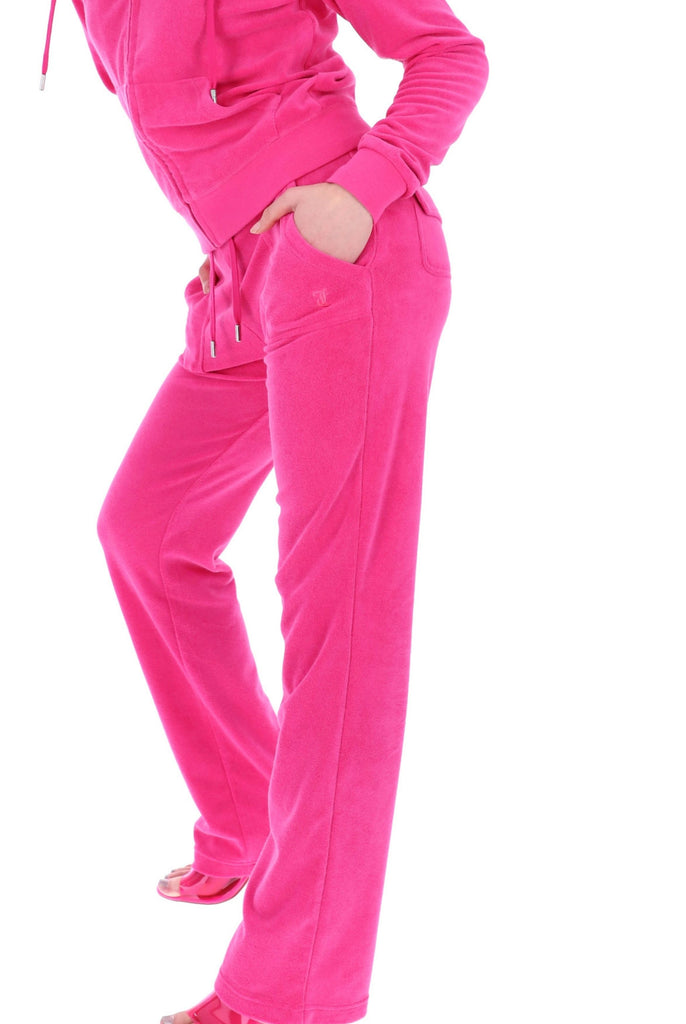 RASPBERRY ROSE TERRY TOWELLING DEL RAY POCKETED BOTTOMS