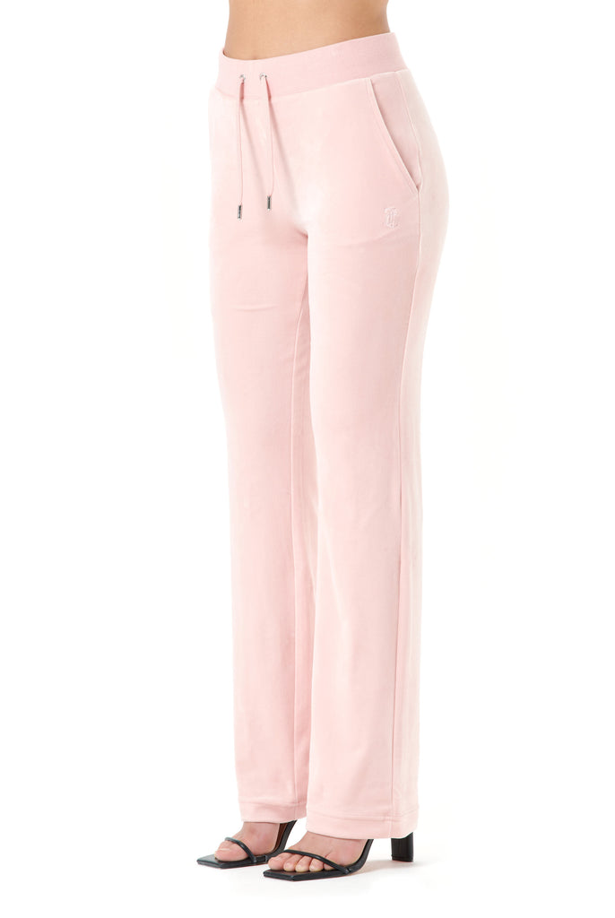 Pale Pink Classic Velour Del Ray Bottoms