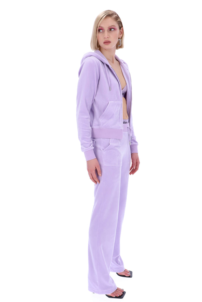 PASTEL LILAC CLASSIC VELOUR DEL RAY POCKETED BOTTOMS
