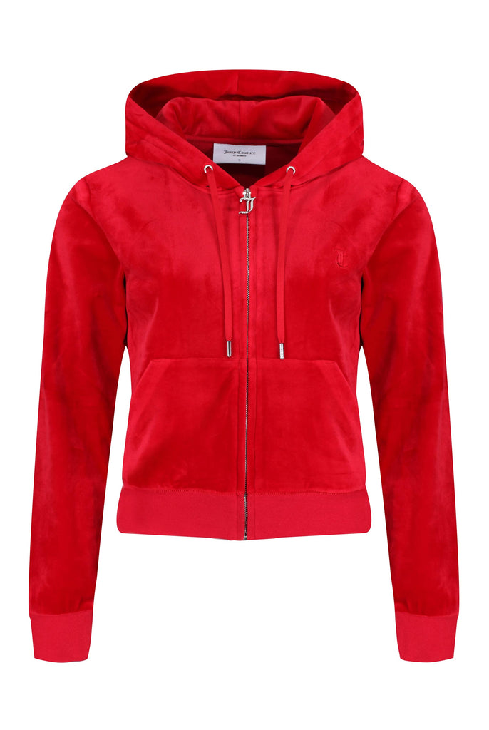 ASTOR RED CLASSIC VELOUR ROBERTSON HOODIE