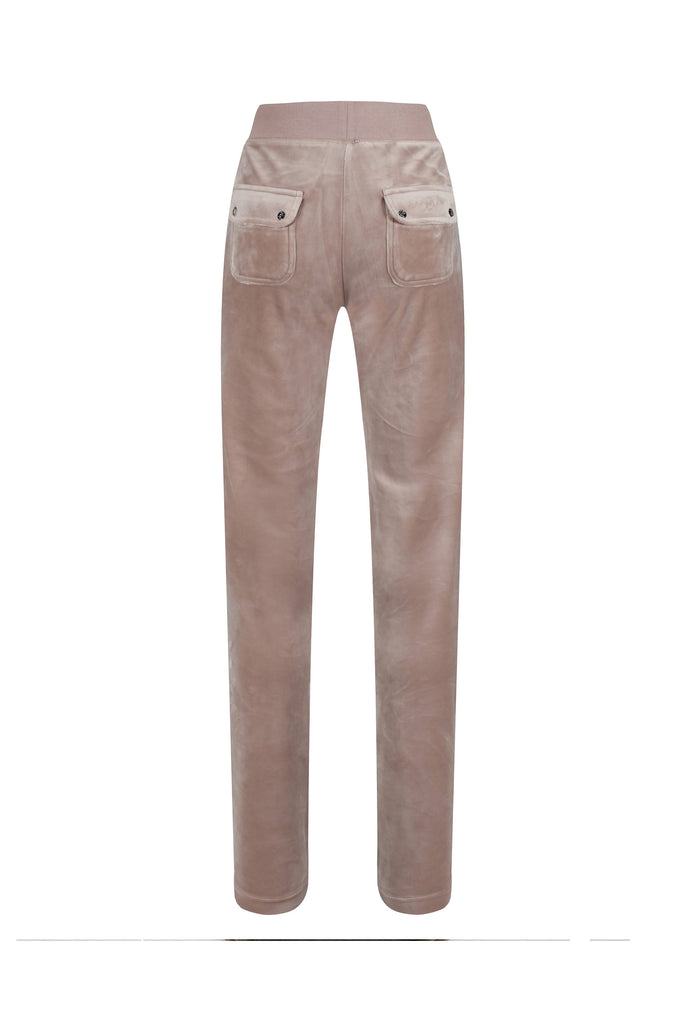WARM TAUPE CLASSIC VELOUR DEL RAY POCKETED BOTTOMS