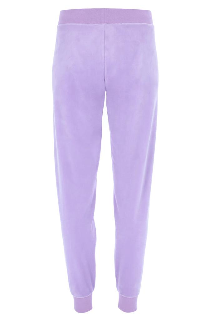 PASTEL LILAC CLASSIC VELOUR CUFFED JOGGER
