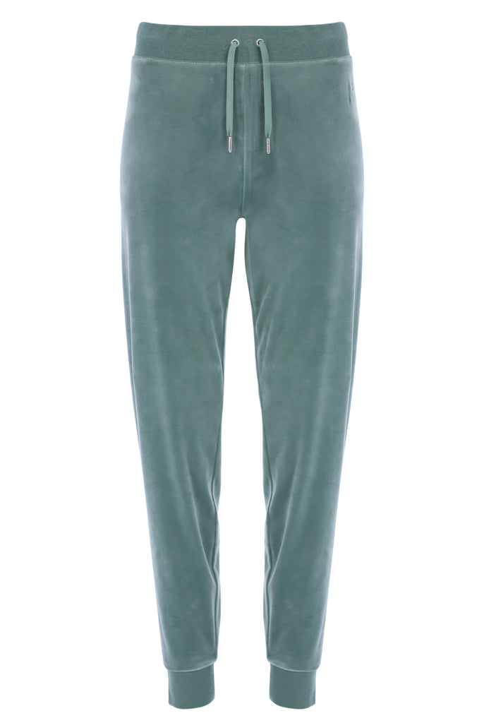 CHINOIS GREEN CLASSIC VELOUR CUFFED JOGGER