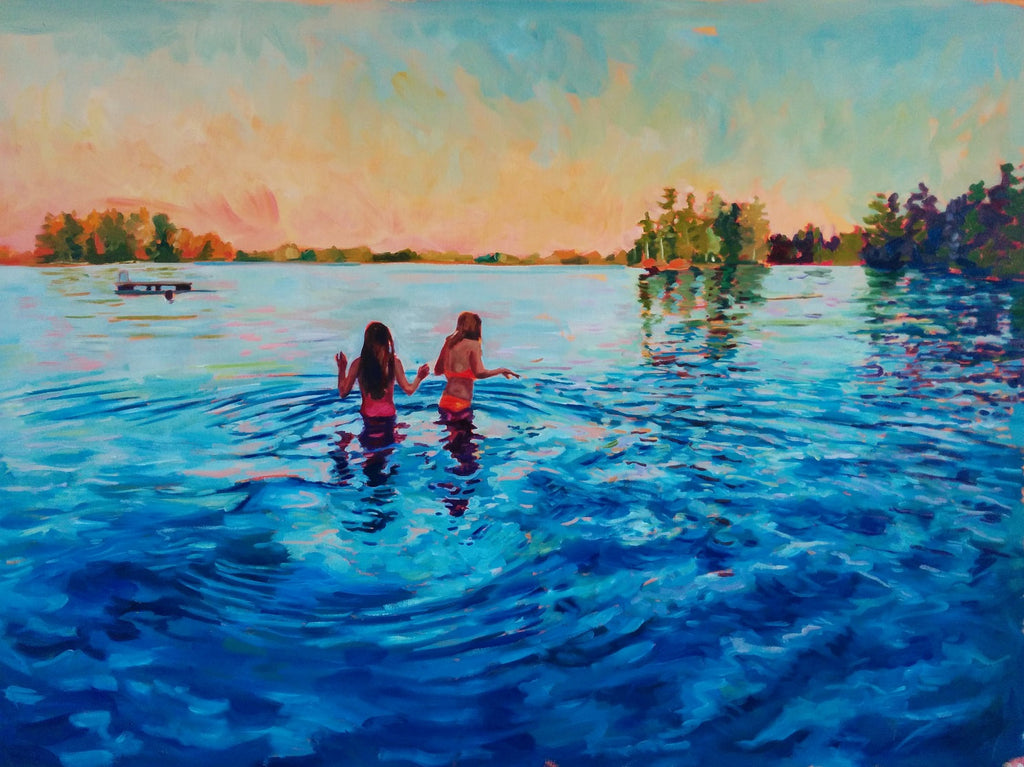 Original Oil Painting - Selkies
