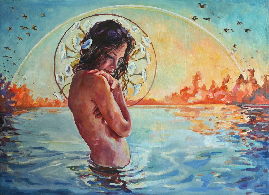 Original Oil Painting - Siren Call