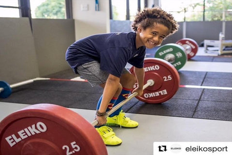 Youth Olympic Weightlifting Program - More Strength Weightlifting