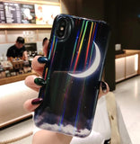 Glossy Moon iPhone Case
