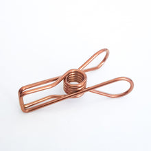 Load image into Gallery viewer, Rose Gold Pegs Grade 316