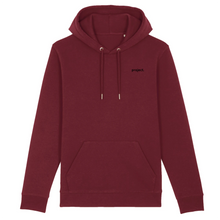 Load image into Gallery viewer, project. Classic Hoodie - Burgundy