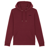 project. Classic Hoodie - Burgundy