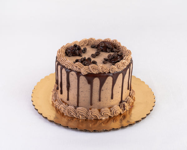 Chocolate Coffee Buttercream Cake