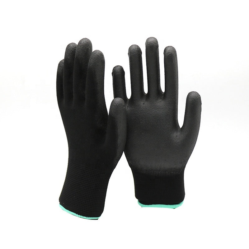 Gloves with PU Palm Coating