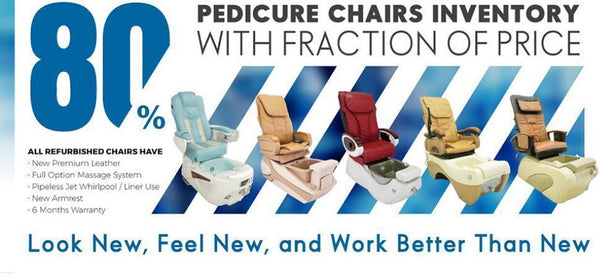 Refurbished VS Renewed VS Used Spa Chairs - 10 Minutes could save you days of Headaches