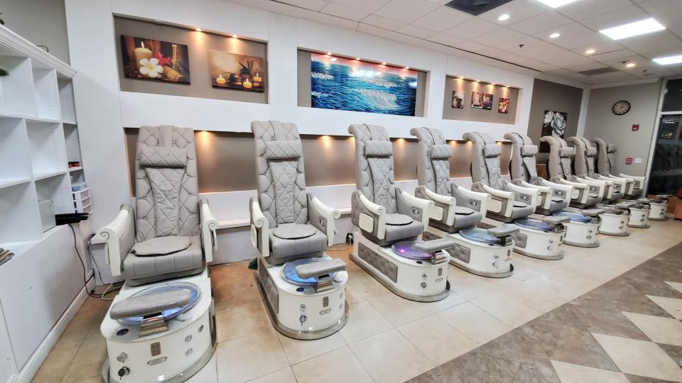 Pedicure Chairs HB550S Luxury