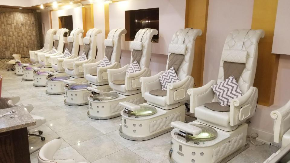 Pedicure Chairs HB550S Luxury pack