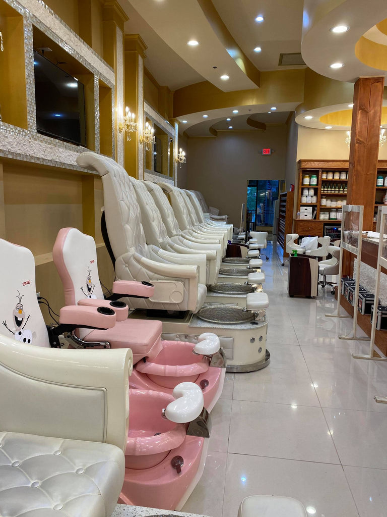 Pedicure Chairs HB550s Customer 1