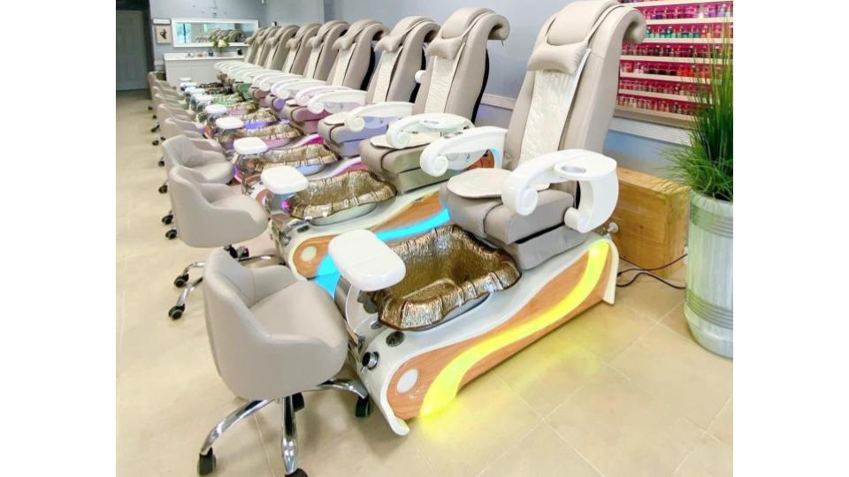 Pedicure chairs es450 luxury pipeless