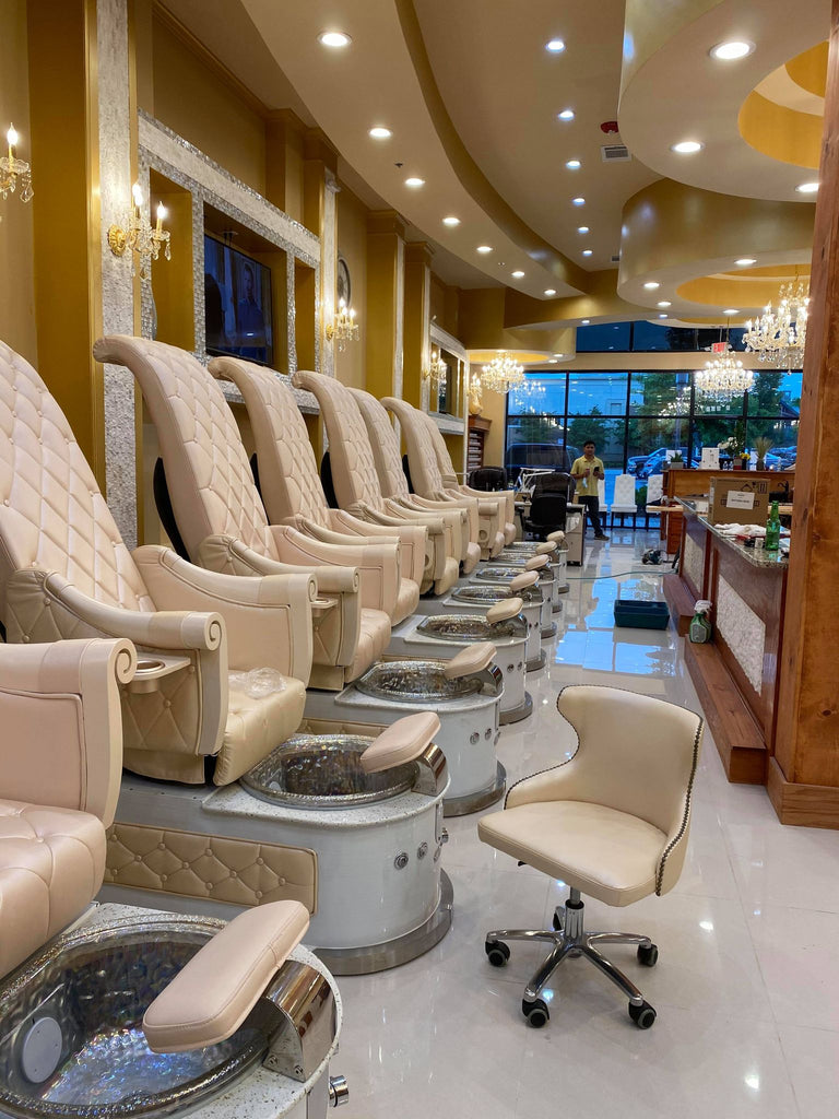 Pedicure Chairs HB550s Customer 2