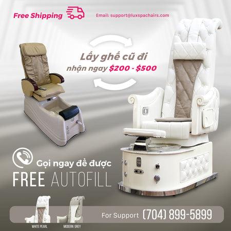 pedicure chairs trade in