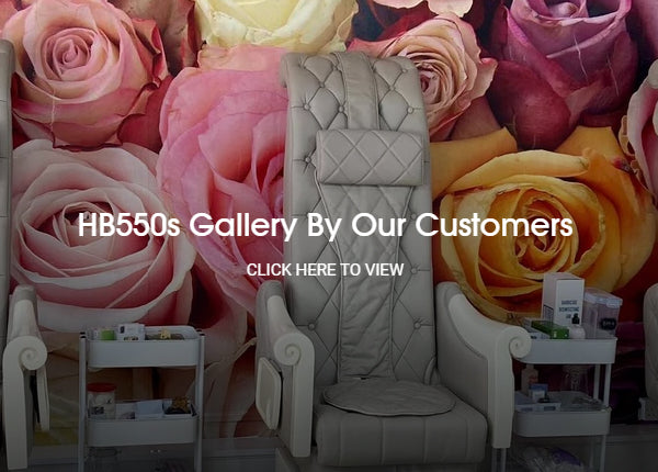 HB550s Pedicure Chairs