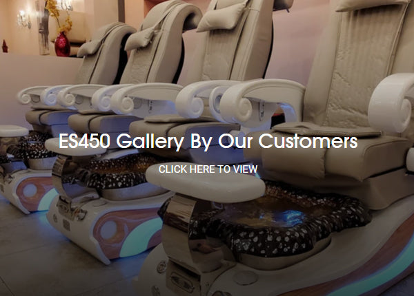LUX ES450 Pedicure Chairs Gallery