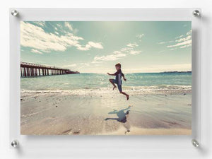 LUX Standoff Floating Acrylic Photo Art Frame (Photo size 11x17''/ Frame size 14x20'')