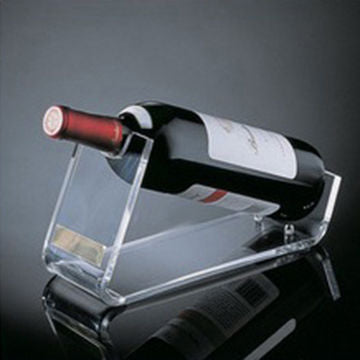 Clear Acrylic Wine Bottle Holder Display