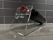 Load image into Gallery viewer, Clear Acrylic Wine Bottle Holder Display