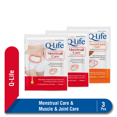 Bundling Menstrual & Muscle Joint Care