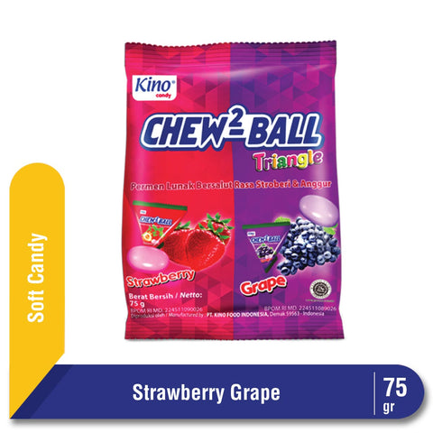 Chew2Ball Strawberry & Grape