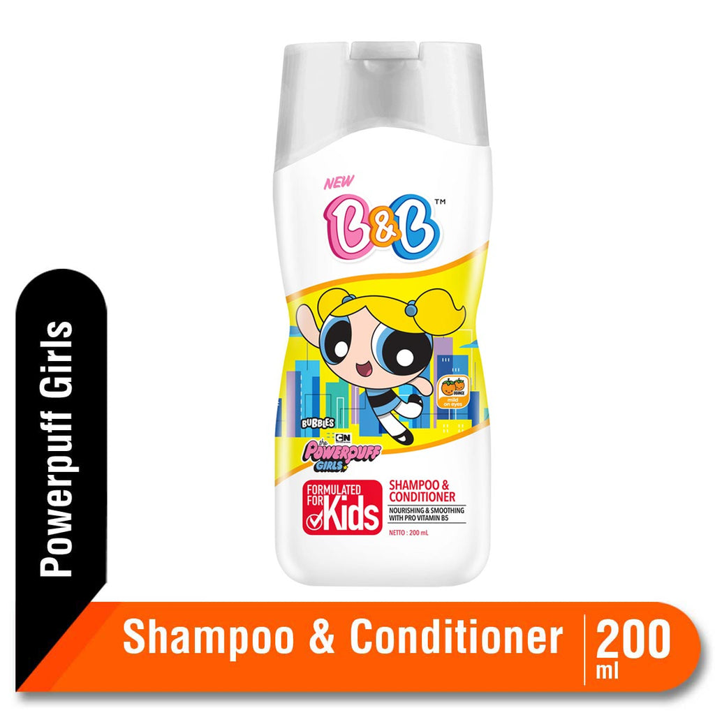 B&B Kids Shampoo BUBBLES 200ML BTL