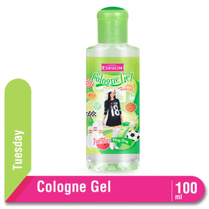 Eskulin Cologne Gel Day Tuesday Botol 100ml