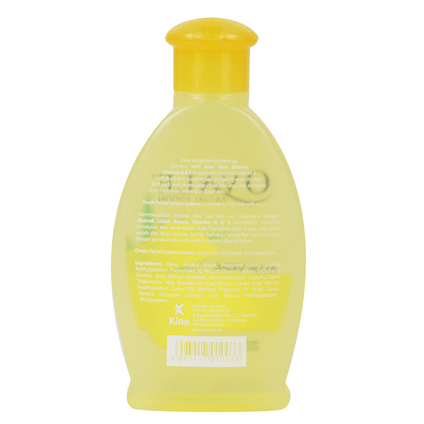 Ovale Facial Lotion Lemon Botol 100ml