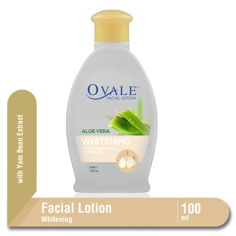 Ovale Facial Lotion Whitening Bengkoang Botol 100ml