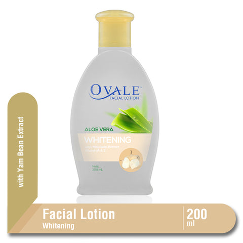 Ovale Facial Lotion Whitening Bengkoang Botol 200ml
