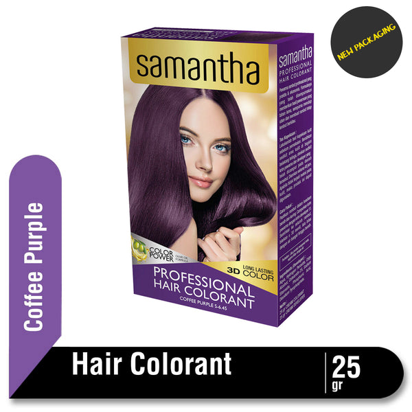 Samantha Professional Hair Colorant Coffee Purple 25gr