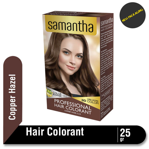 Samantha Professional Hair Colorant Copper Hazel 25gr
