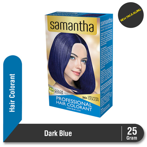 Samantha Professional Hair Colorant Dark Blue 25gr
