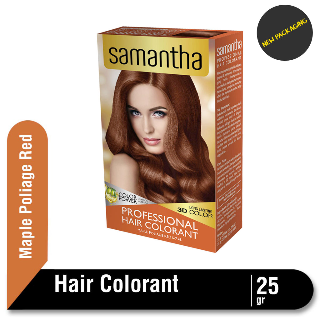Samantha Professional Hair Colorant Maple Poliage Red 25gr
