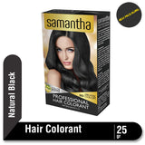 Samantha Professional Hair Colorant Natural Black 25gr
