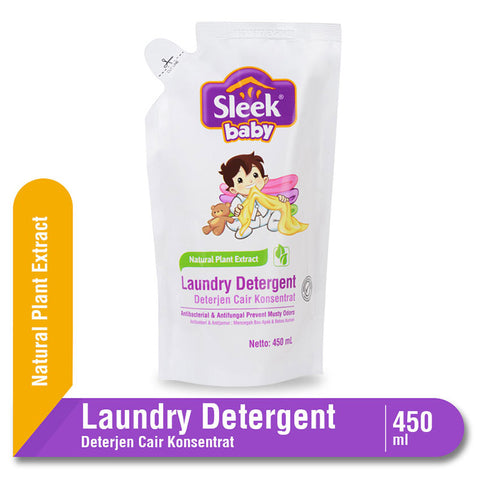 Sleek Baby Laundry Detergent Pouch 450ml