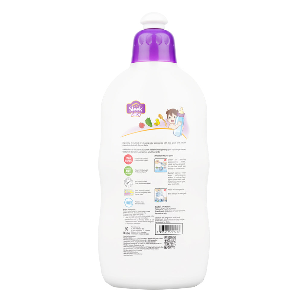 Sleek Baby Bottle & Nipple Accessories Cleanser Botol 500ml