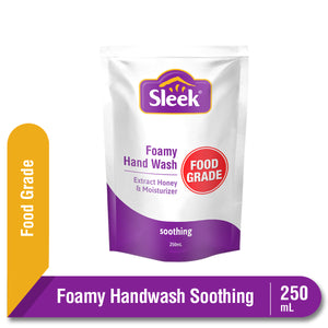Sleek Foamy Hand Wash Soothing Pouch 250 mL