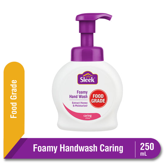 Sleek Foamy Hand Wash Caring Botol 250 mL