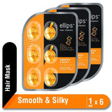 Ellips Hair Vitamin Pro Keratin Smooth & Silky Blister Multipack 3 Pcs