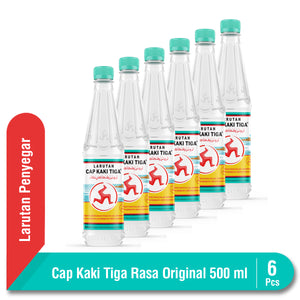Multipack Cap Kaki Tiga Original Botol 500 ml 6 Pcs