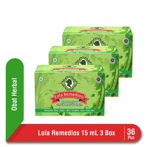 Multipack Lola Remedios Sachet 15 mL isi 36 Pcs